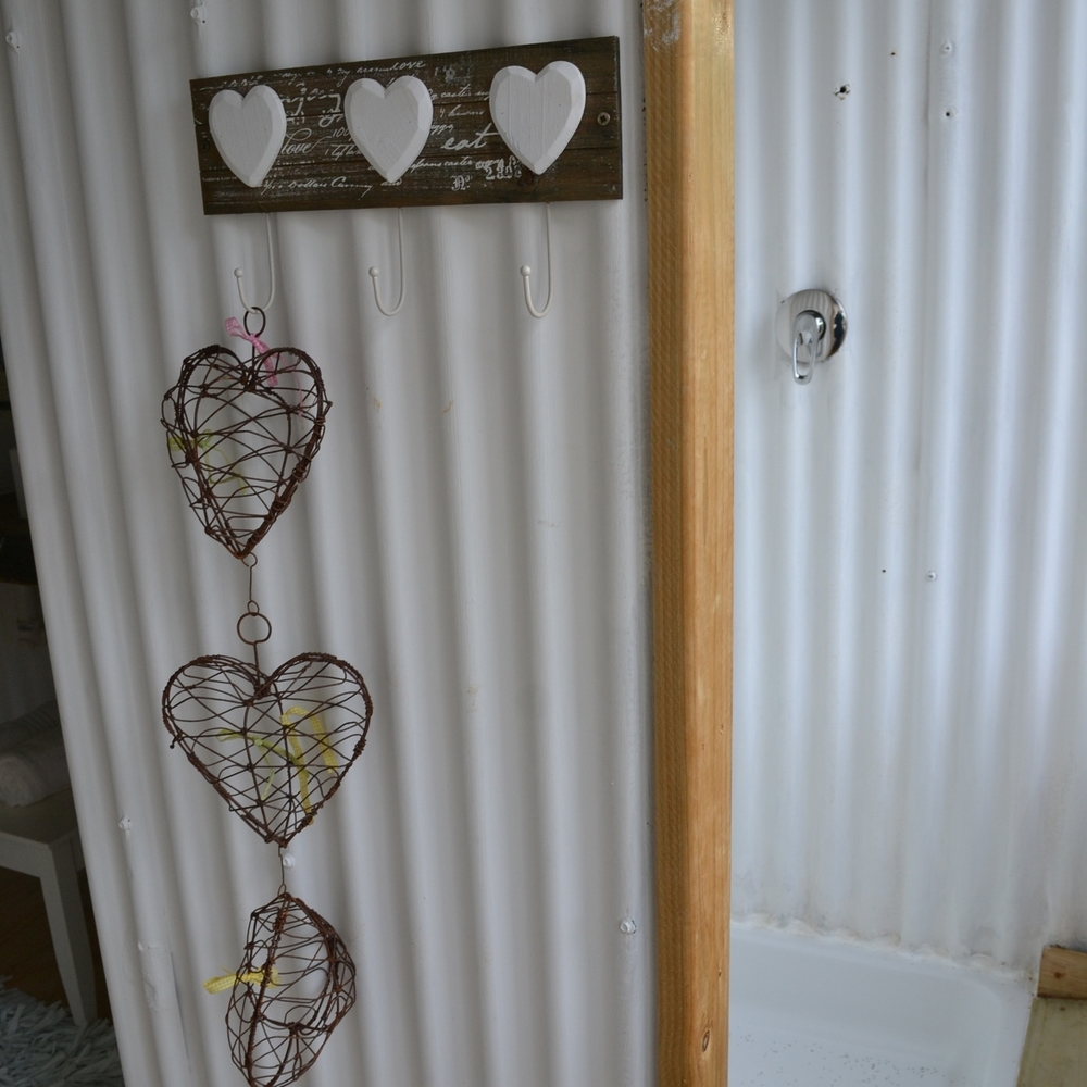 Country style hearts
