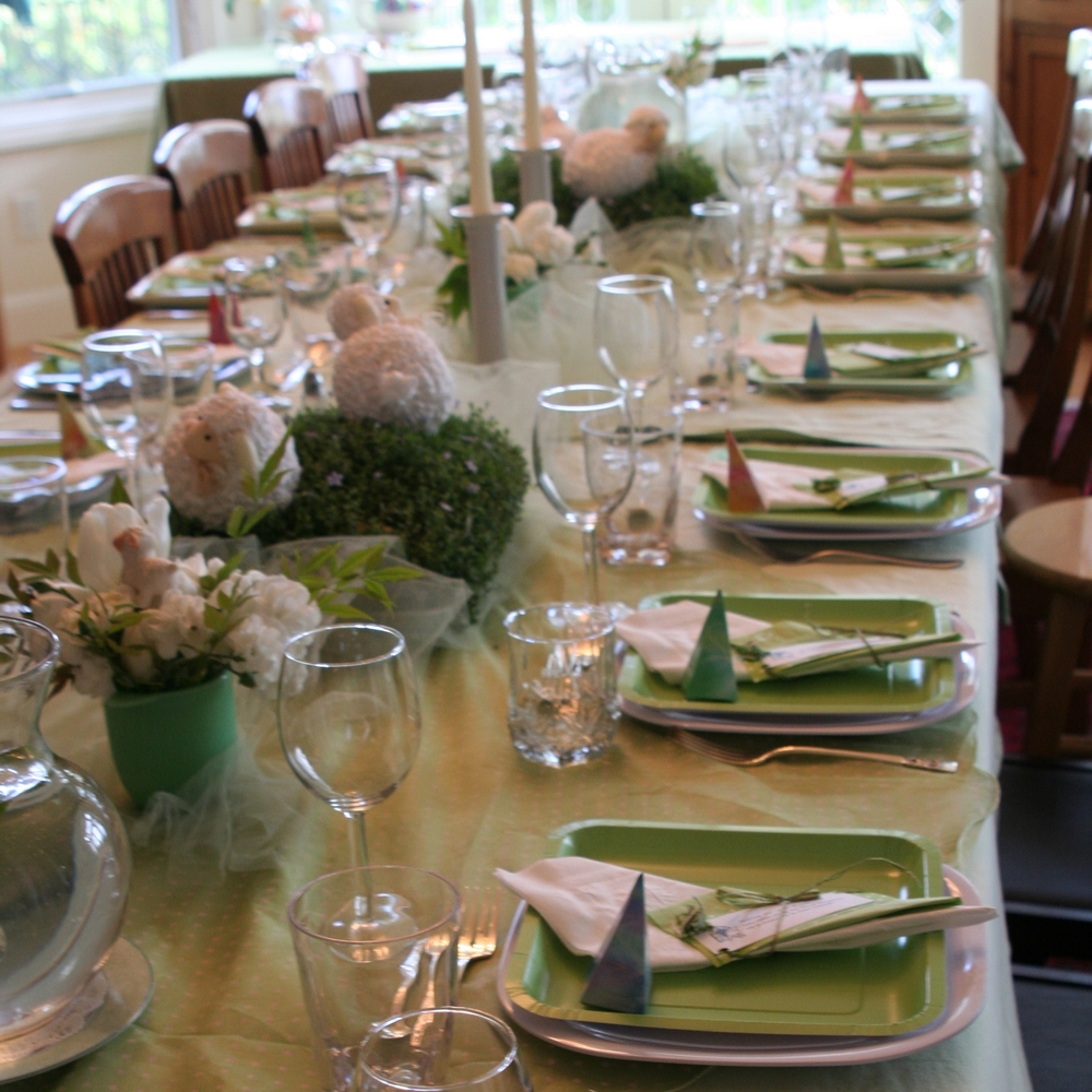 Easter Table @Heartistry.info