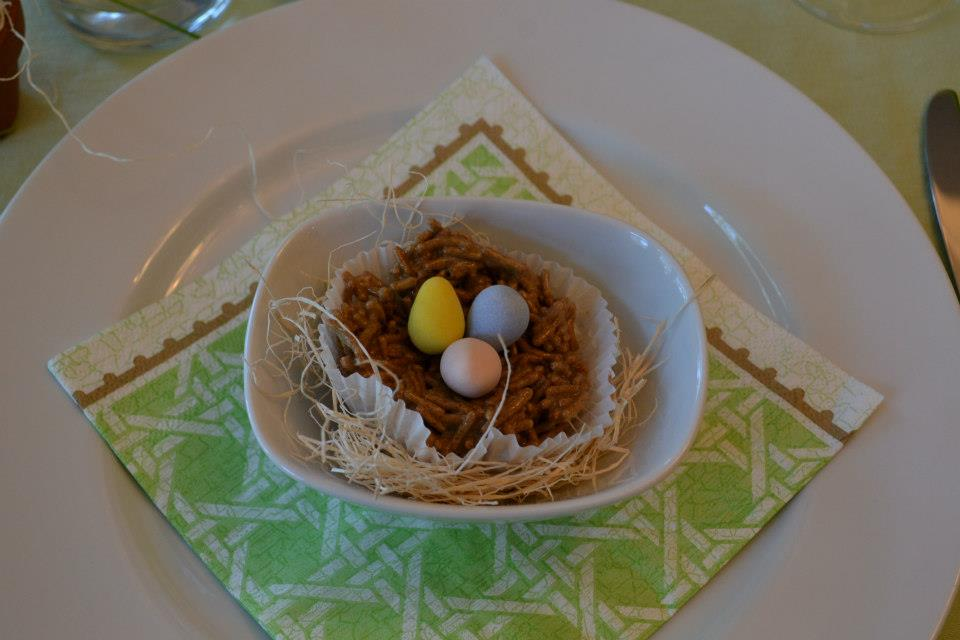 Little Easter nests #Heartistry.info
