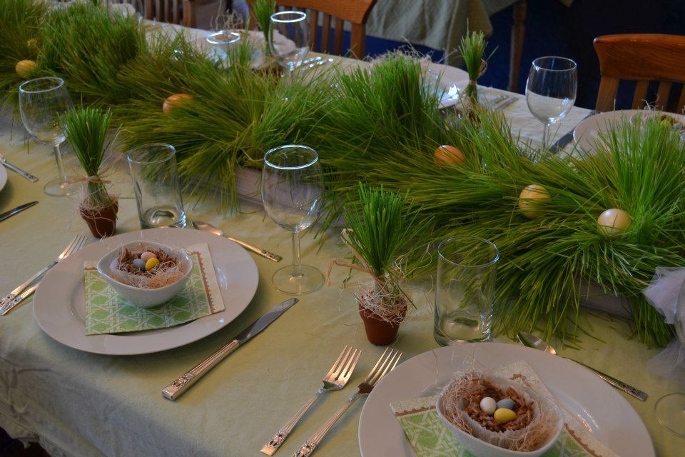 Easter Table #Heartistry.info