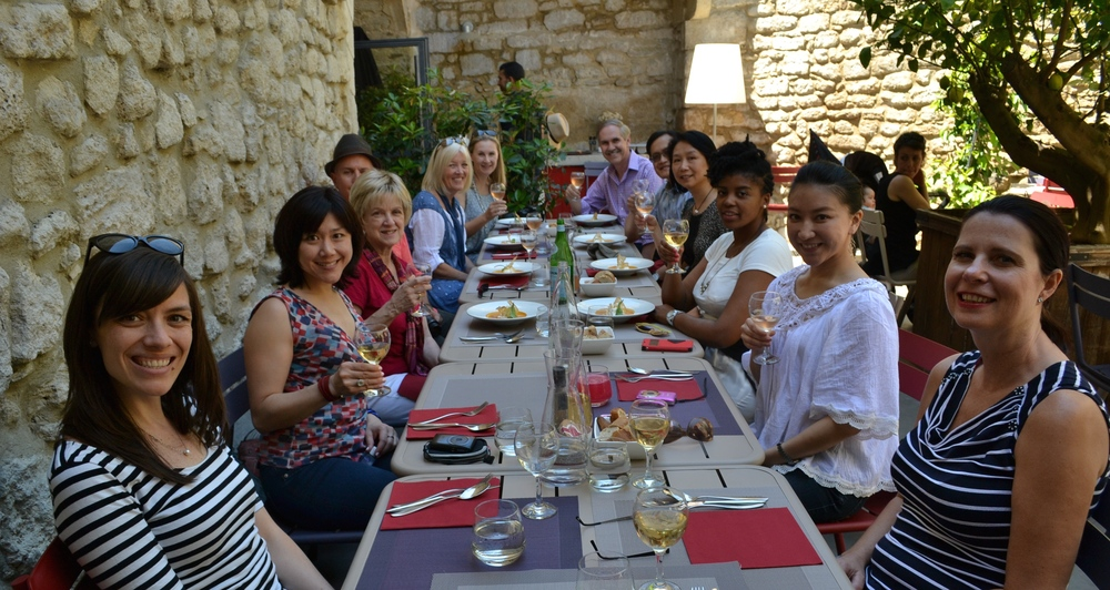 Lunch in Uzes