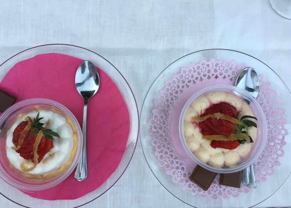 Dessert for banquet