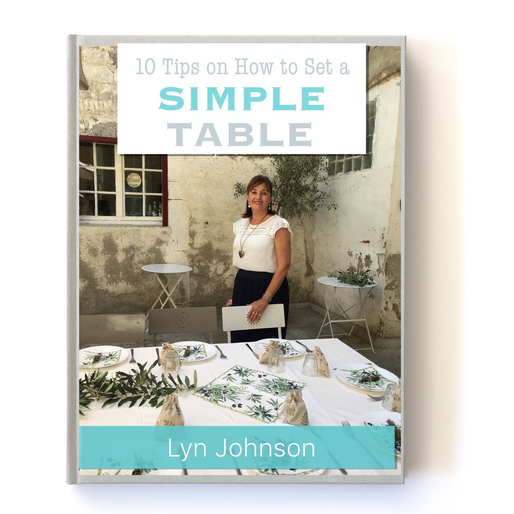 Set a Simple Table e-booklet