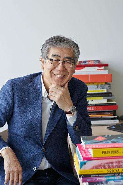 Fumio Nanjo, curatorial director of Honolulu Biennial in 2016.       Photo by Makiko Nawa.Courtesy Mori Art Museum, Tokyo.