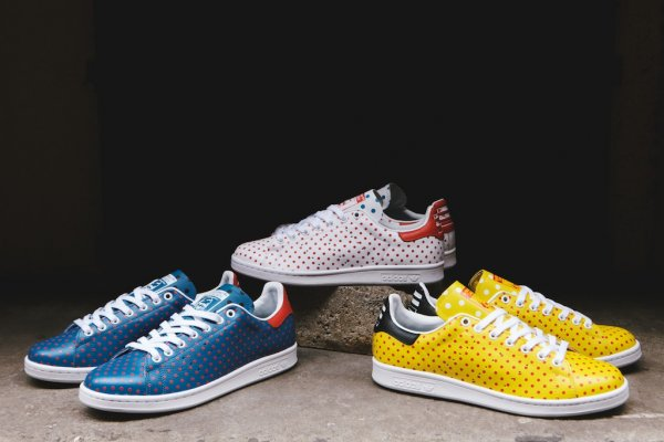 Pharrell Stan Smith Polka Dot