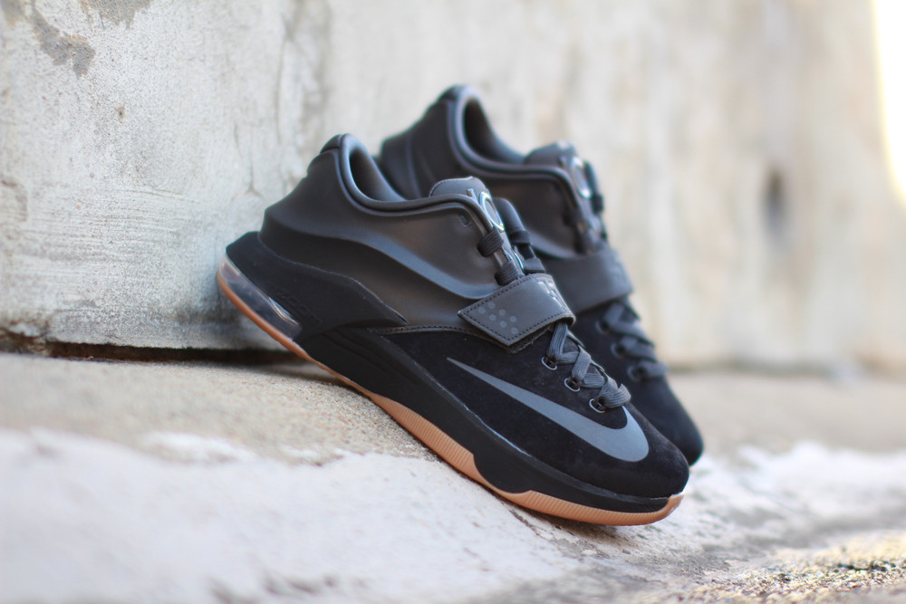 black suede KD VII EXT