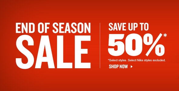 Finishline Sale End of Season