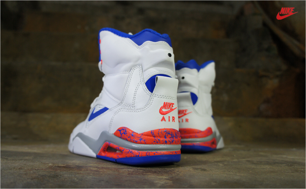 684715-101 Nike Air Command Force 'Ultramarine' White, Lyon Blue & Crimson