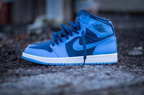 french blue jordan 1 strap discount sale