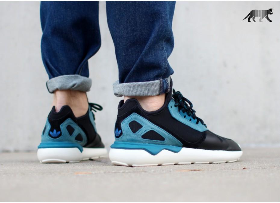 Adidas Tubular Blue Black