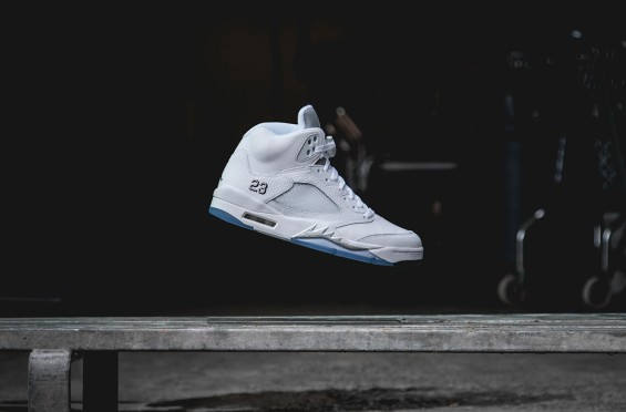 Metallic Silver Jordan 5 Available For Preorder!