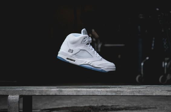 Metallic Silver Jordan 5 Available For Preorder!
