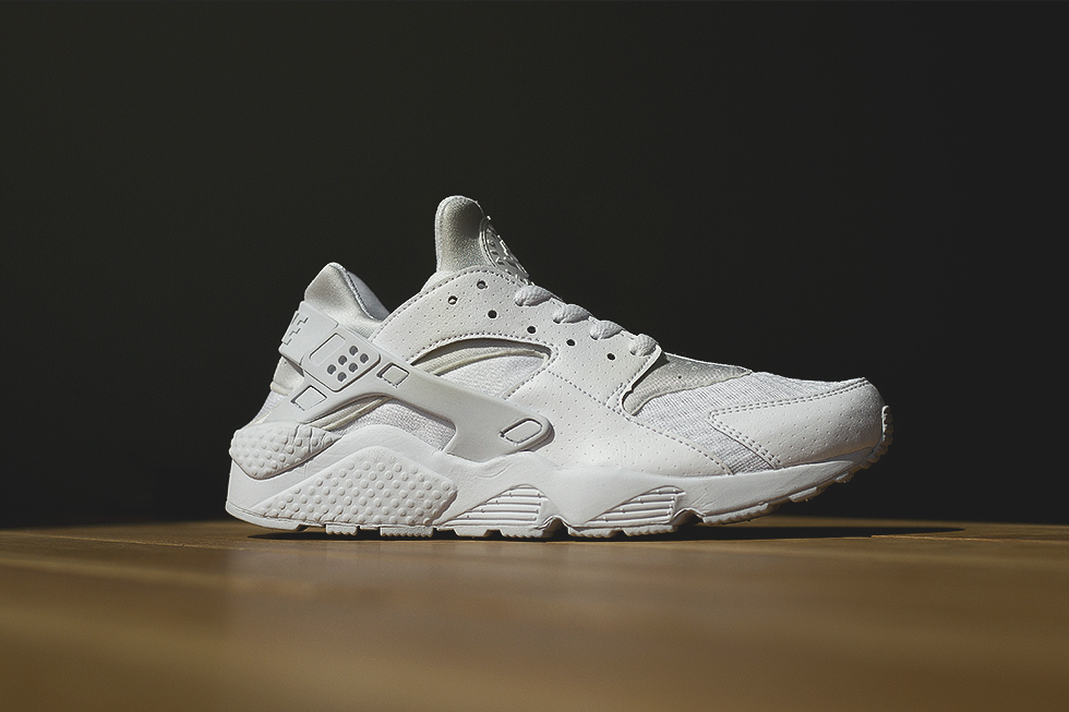 mens triple white huarache