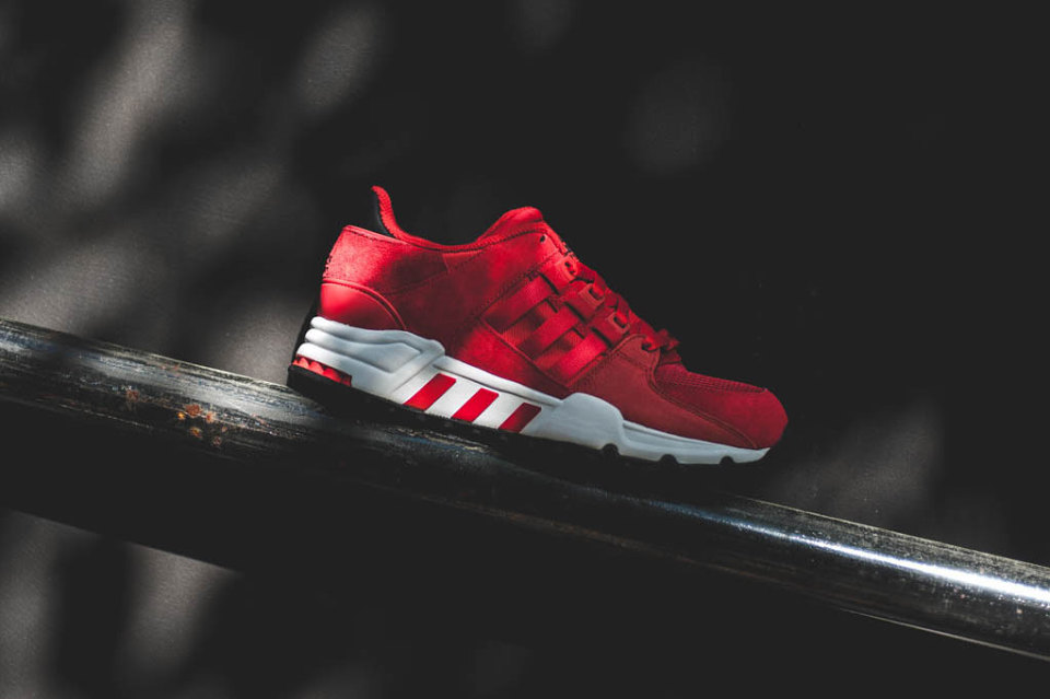 """Adidas EQT '93 """"Scarlet Red"""" Available UNDER Retail!"""