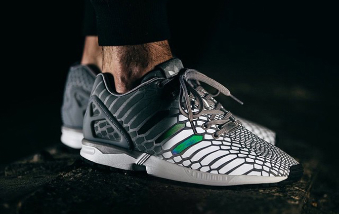 adidas ZX Flux Winter Black / Grey