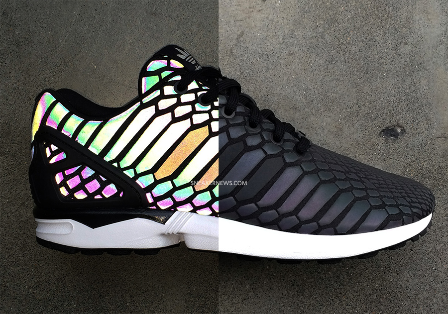 Adidas Flux Reflective Black
