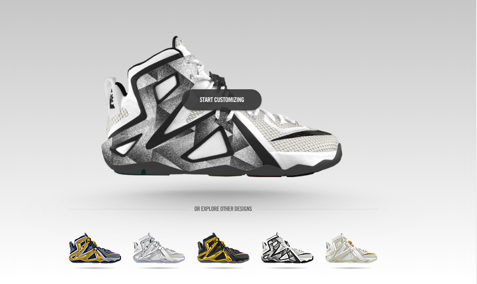 Customize the LeBron 12 Elite Online