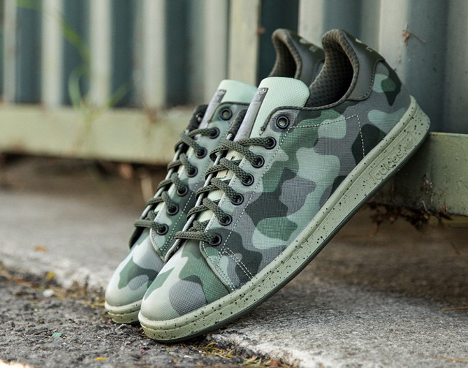 "20% Off The adidas Stan Smith ""Camo"" With Free Shipping!"