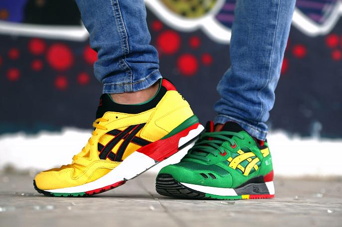 Asics Rasta Gel Lyte III and V Available UNDER Retail!