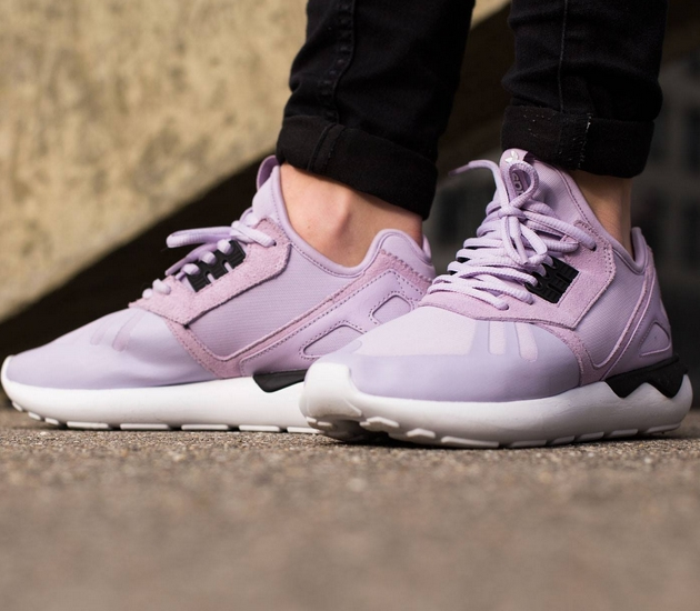 Violet purple adidas womens tubular