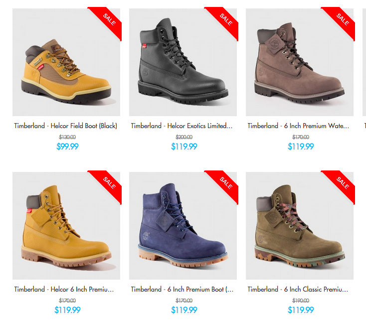 timberland six inch boot on sale
