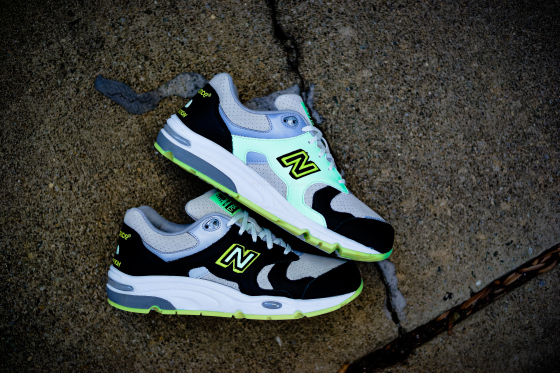 Barney's new balance 1700 glow in the dark