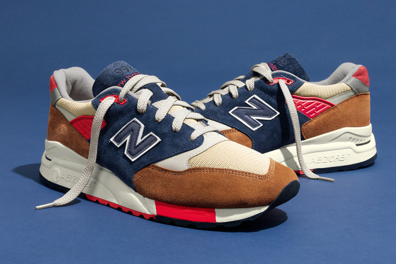 hilltop blues new balance j crew 998 on feet