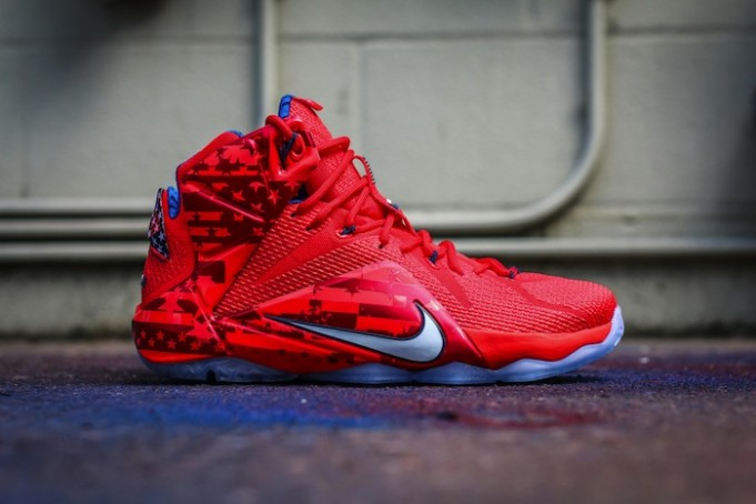 USA LeBron 12 On sale