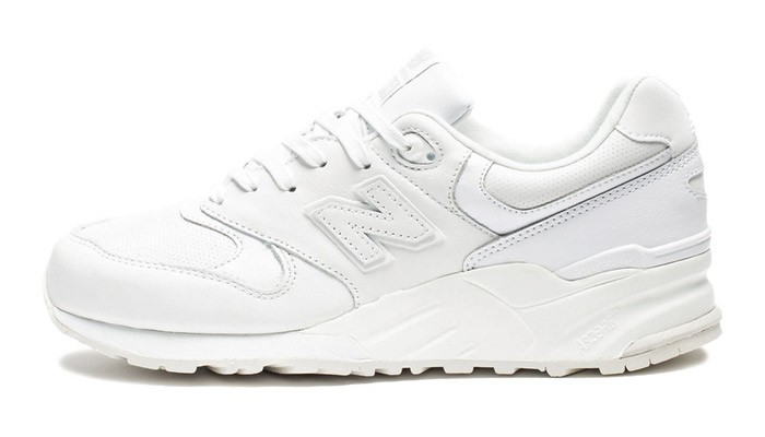 white out new balance 999