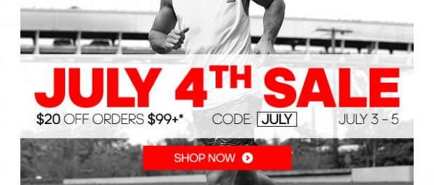 adidas sale coupon july