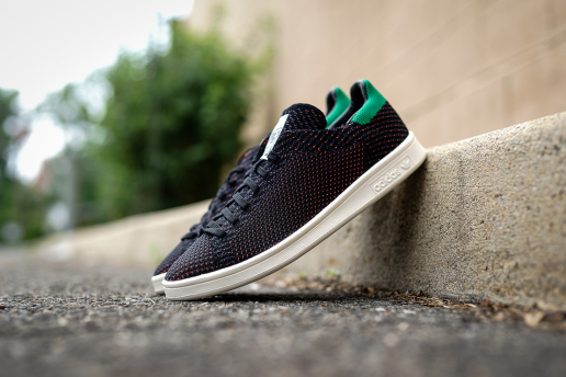black green primeknit stan smith
