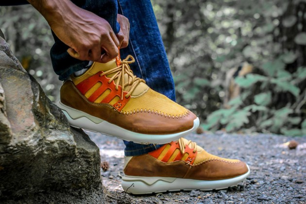 mesa adidas tubular on feet