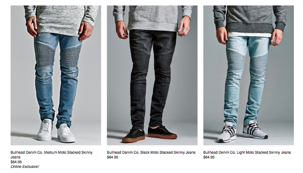 Inexpensive Biker Denim Now Available UNDER RETAIL! Cheap Moto