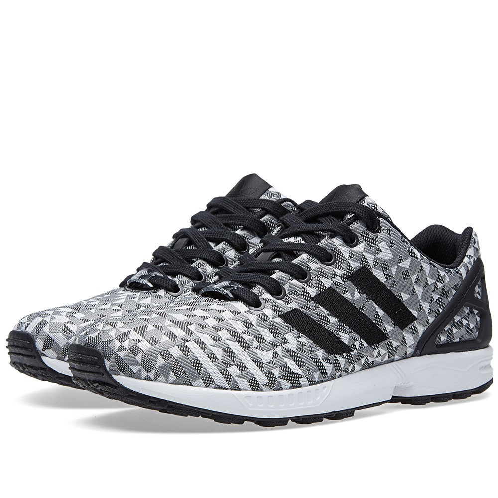 adidas ZX Flux Grey Shoes Zumiez