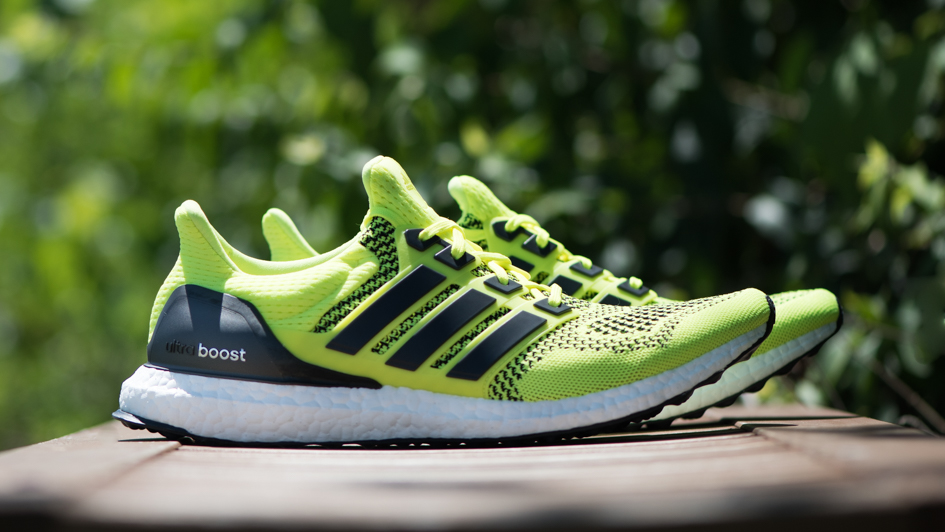 volt yellow adidas ultra boost on sale