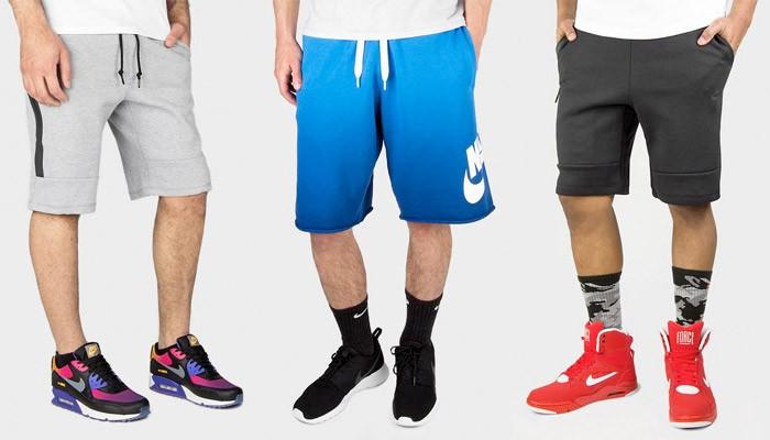 tech fleece shorts on sale