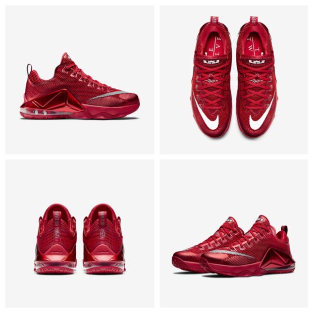 red october lebron 12