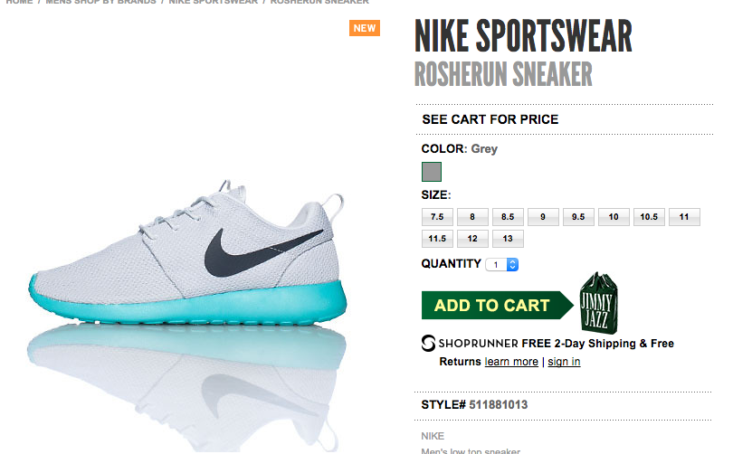 calypso roshe run on sale