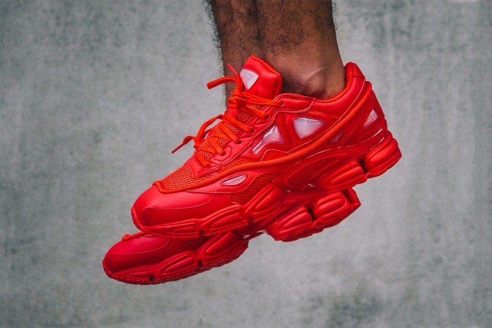 red october all red ozweego 2