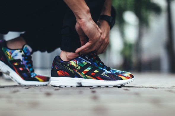 adidas zx flux on foot 2016