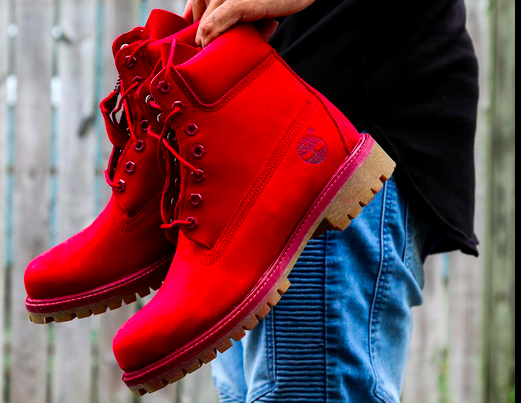 red october timberland 6 inch boot