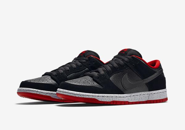 black cement nike dunk low on sale