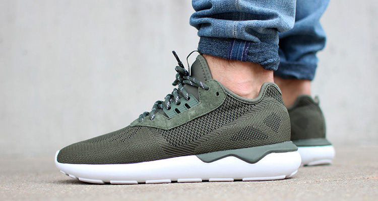 olive tubular weave on foot