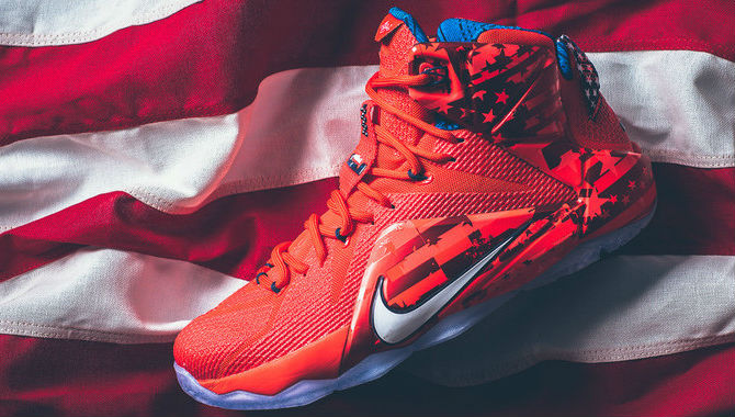 lebron 12 usa under retail
