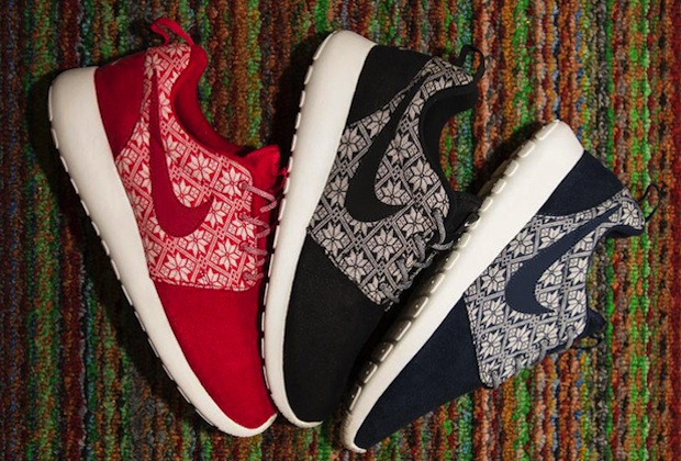 ugly christmas sweater nike roshe run