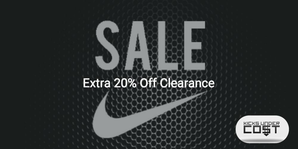 20% off Nike Code 2015
