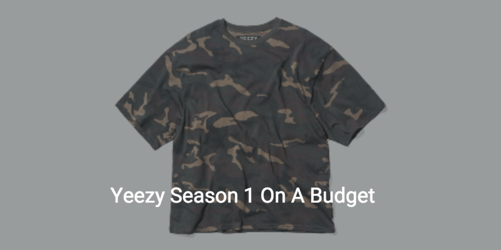 yeezy season 1 on sale under retail