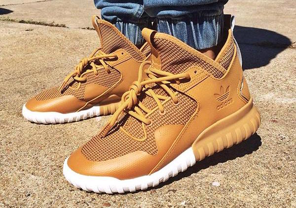 adidas tubular x mesa wheat tan