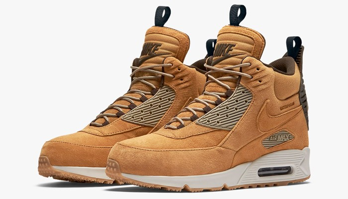 wheat flax air max 90 sneakerboot