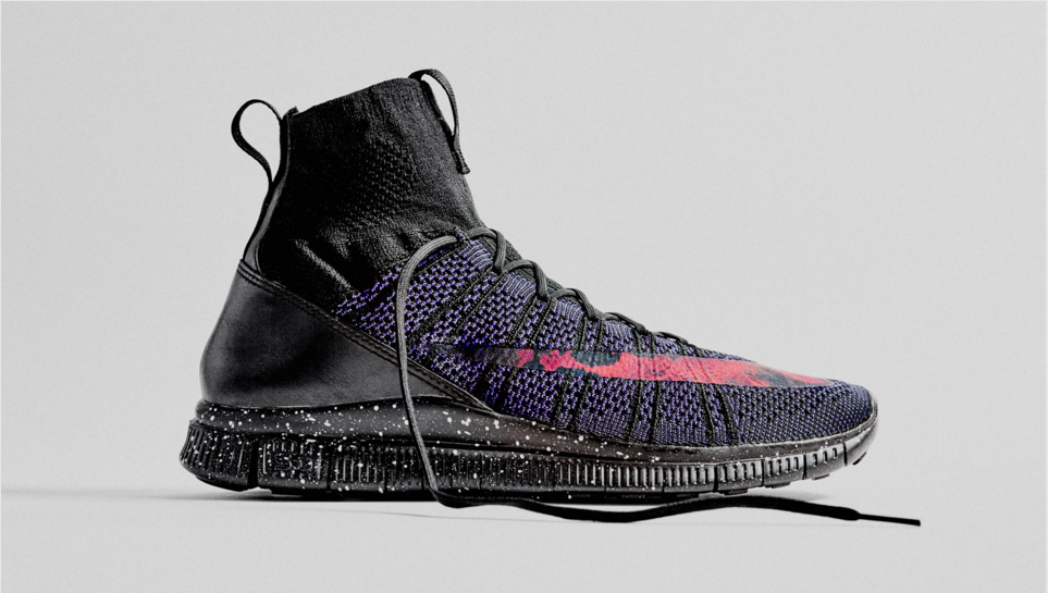 savage beauty nike free flyknit mecurial